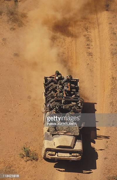 'Restore Hope' The Foreign Legion At Ethiopian Border On January 1993 ln Wadjid