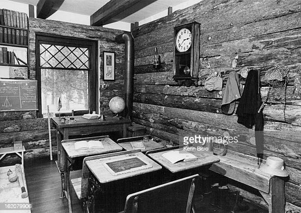AUG 1976 AUG 19 1976 AUG 25 1976 Restored OneRoom School On Display At Hiwan Homestead Museum Evergreen Women's Club has preserved Buffalo Park...