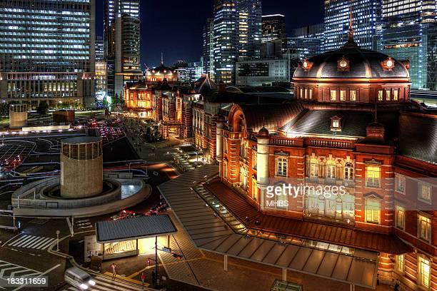 Restored Tokyo Station building
