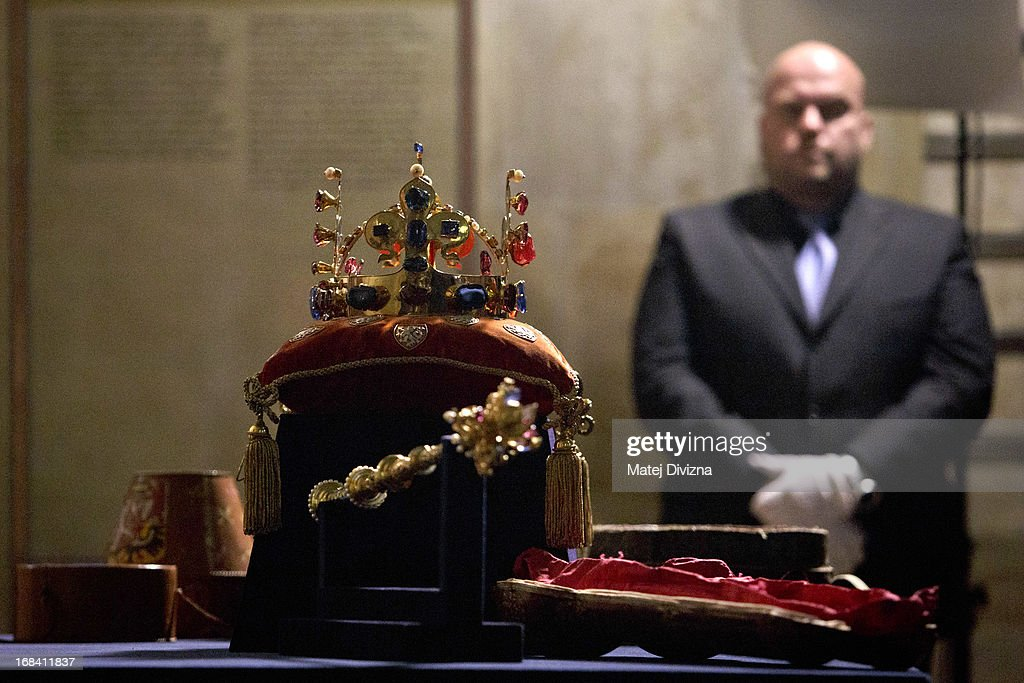 Czech Crown Jewels Moved Ahead Of Exhibition : News Photo