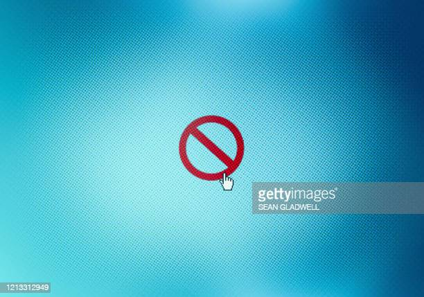 restricted access icon - forbidden stock pictures, royalty-free photos & images