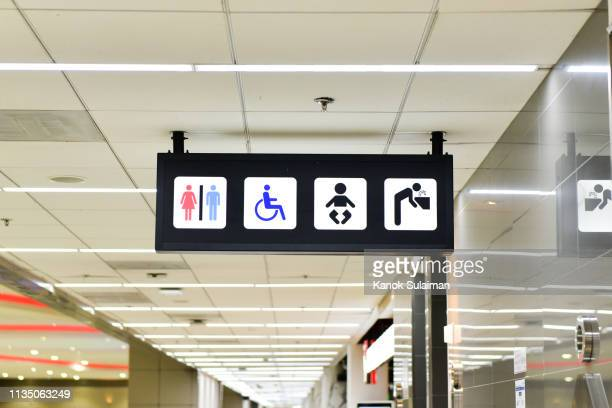 restroom sign - symbol stock pictures, royalty-free photos & images