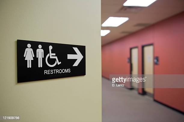 restroom sign - public restroom stock pictures, royalty-free photos & images