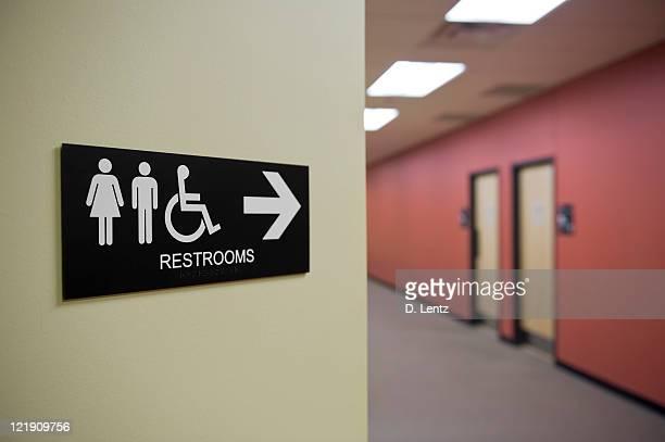 トイレの標示