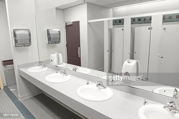 public bathroom sink toilet stock photos and pictures getty images 14044
