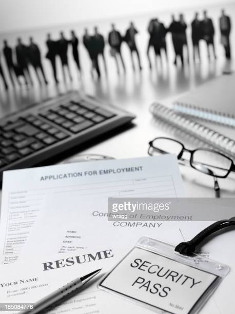 Resume and Application for Employment Work Force
