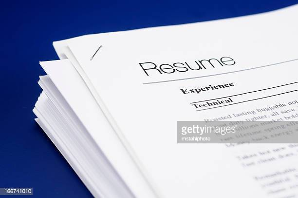 60 Top Resume Pictures Photos Images Getty Images