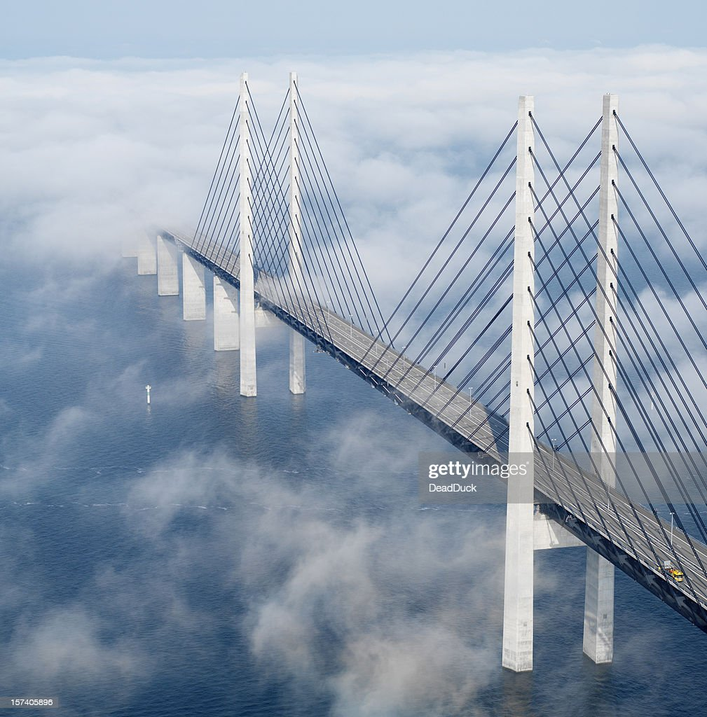 Öresund bridge : Stock Photo