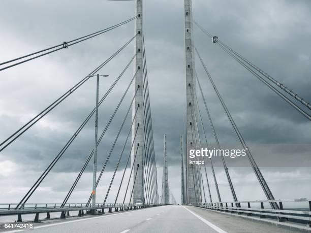 Öresundsbron Oresund Bridge between Malmö Copenhagen