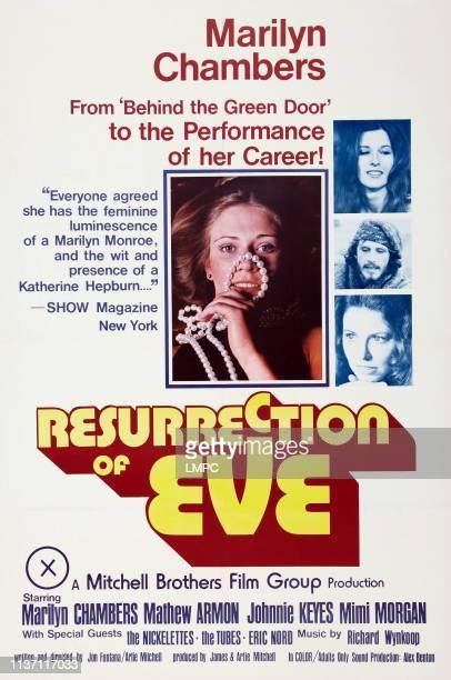 Resurrection Of Eve poster US poster art center Marilyn Chambers bottom right insert Mimi Morgan 1973