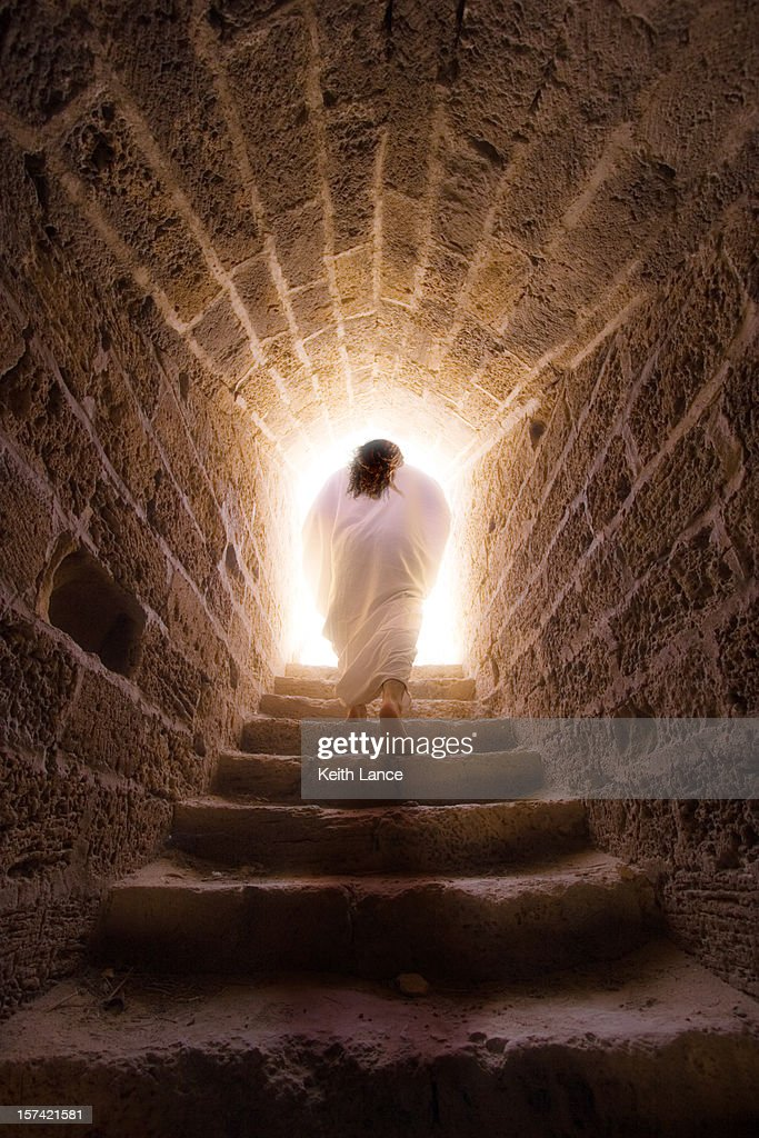 Resurrection of Jesus Christ : Stock Photo