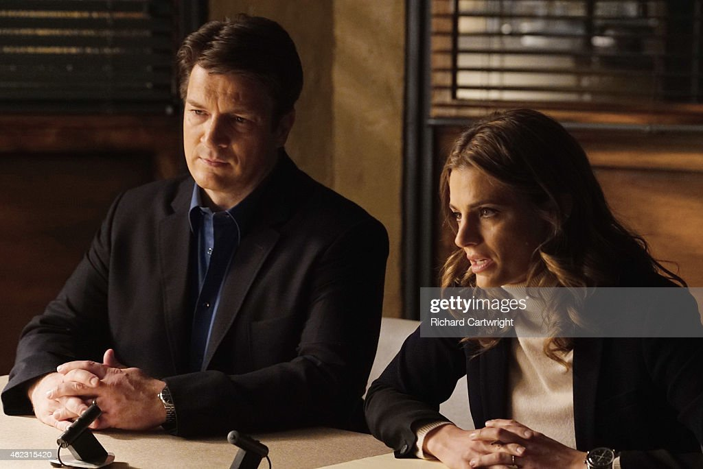 ABC's 'Castle' - Season Seven : News Photo