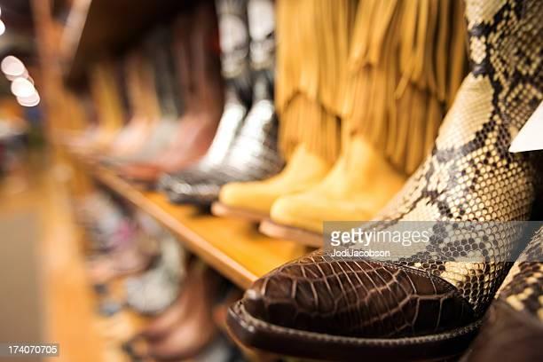 Einzelhandel: Cowboy-Stiefel