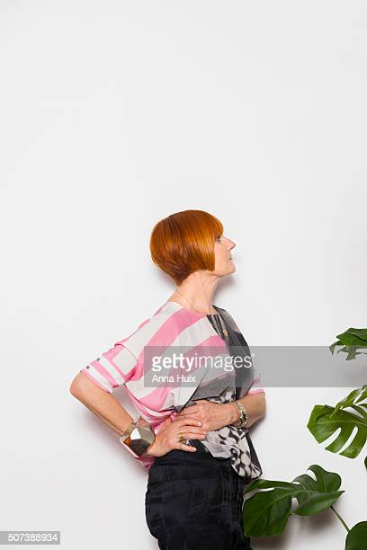 Retail expert and broadcaster Mary Portas is photographed for the Telegraph on November 6 2015 in London England