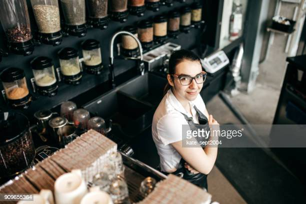 retail food industry - gender fluid stock photos and pictures