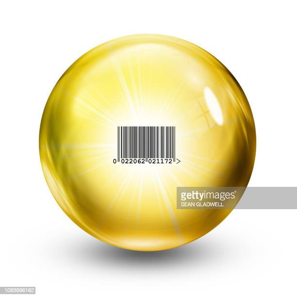 Retail glass ball illustration