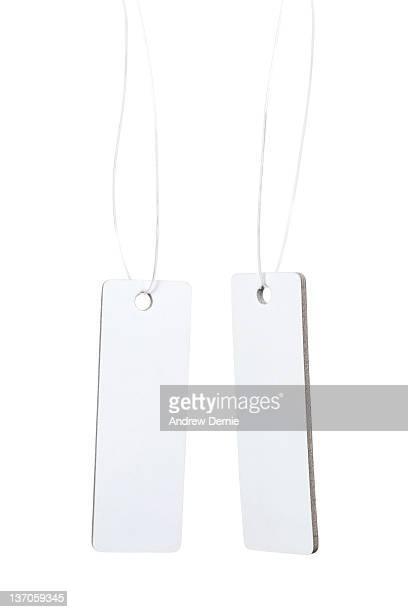 retail ticket/tag - andrew dernie stockfoto's en -beelden