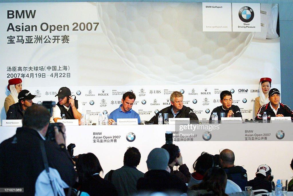 European Tour - BMW Asian Open - Press Conference - April 17, 2007
