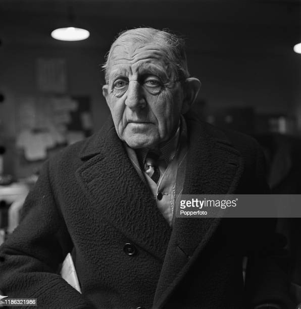 Retired Admiral William Goodenough of the Royal Navy former CommanderinChief the Nore posed in London during World War II 3rd January 1940
