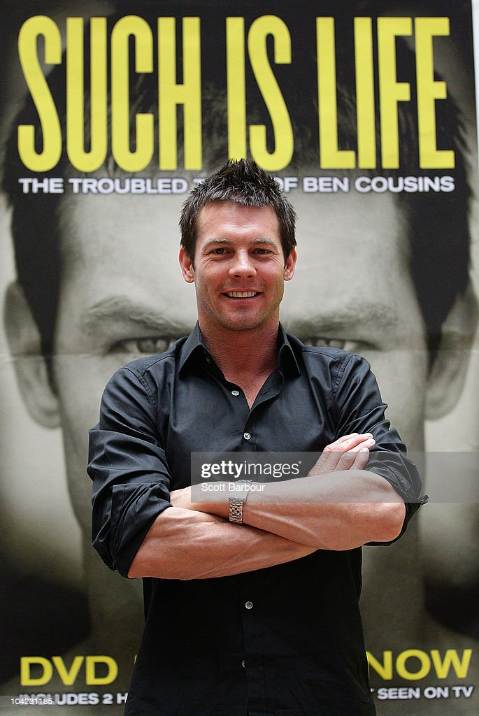 Retired AFL Player Ben Cousins Launches Biographical DVD In Melbourne