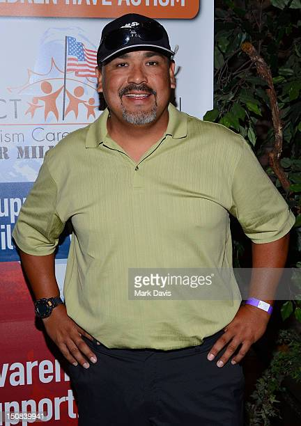 Retired American baseball player Eddie Guardado arrives to the ACT Today 6th Annual Charity Golf Classic held at the North Ranch Country Club on...