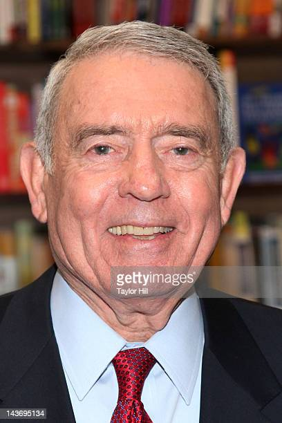 Retired anchor Dan Rather promotes 'Rather Outspoken My Life In The News' at Barnes Noble 82nd Street on May 2 2012 in New York City