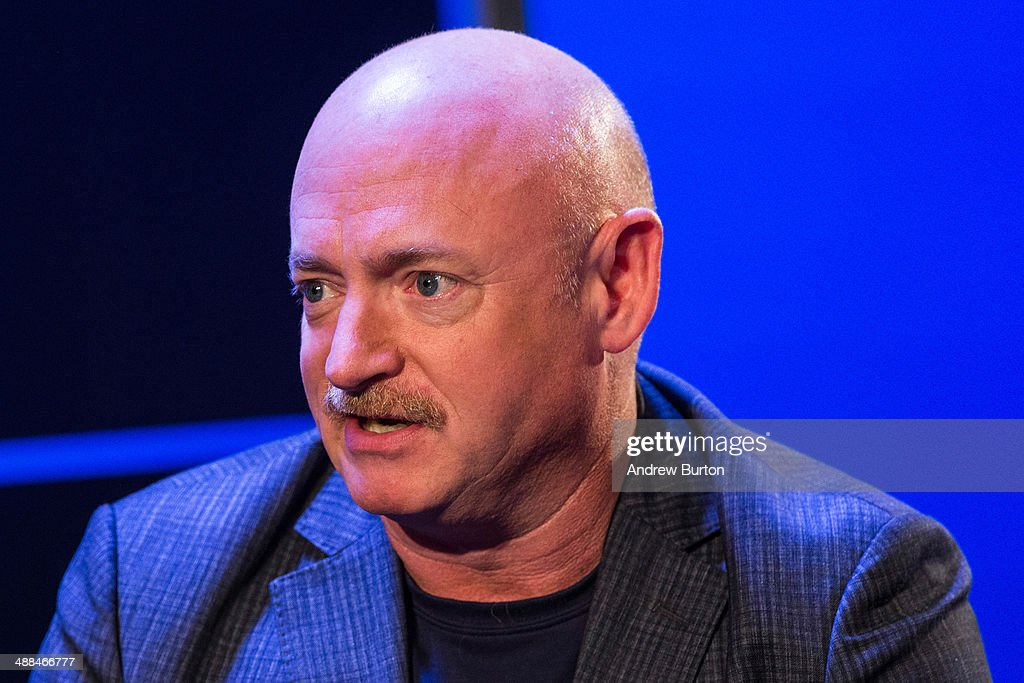 Retired astronaut and co-founder of Americans for Responsible Solutions, Mark Kelly, speaks at New York Ideas, a conference that brings together leaders from a variety of industries on May 6, 2014 in New York City. New York Ideas is hosted by The Atlantic, The Aspen Institute and New-York Historical Society.