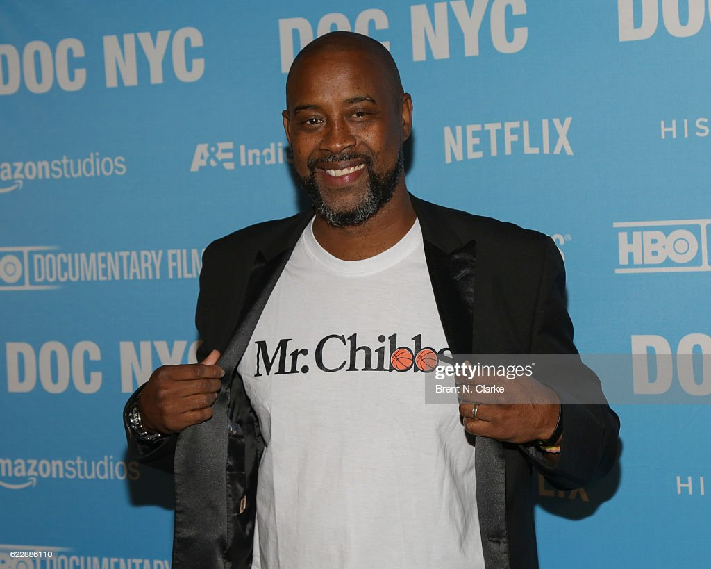 Retired basketball player Kenny Anderson attends the screening of 'Mr. Chibbs' during DOC NYC held at the SVA Theater on November 12, 2016 in New York City.