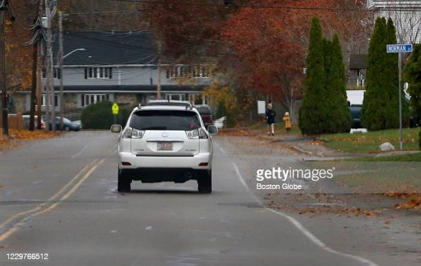 Retired Boston Police detective Robert Tully leaves the Harmon Golf Course clubhouse and drives down Concord Street at the intersection of Norman...