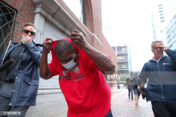 Retired Boston Police Officer Ronald Nelson of Jamaica Plain, one of the 9 Boston police officers charged in connection with committing over $200,000...