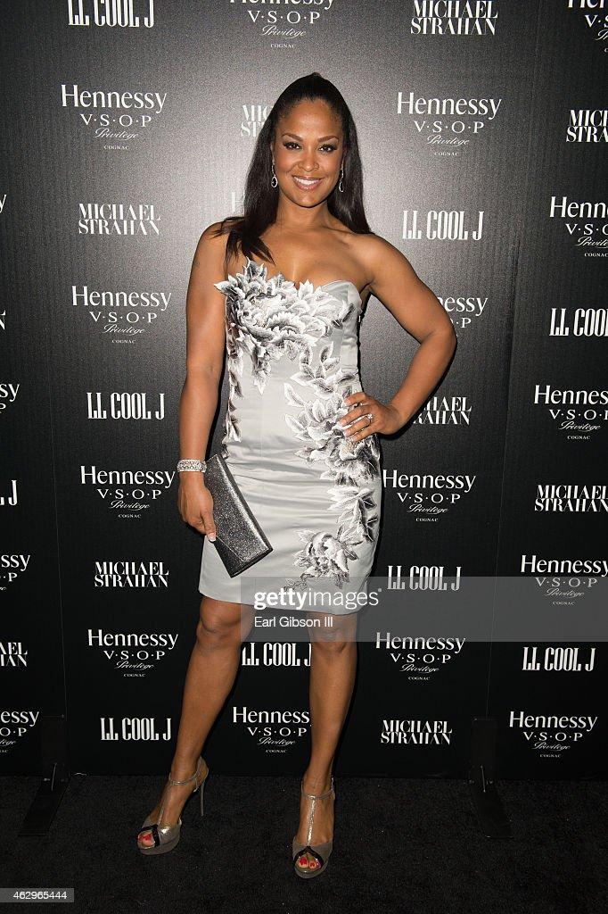 Retired Boxer Laila Ali attends the Hennessyy Toasts Achievements In Music on February 7, 2015 in Los Angeles, California.