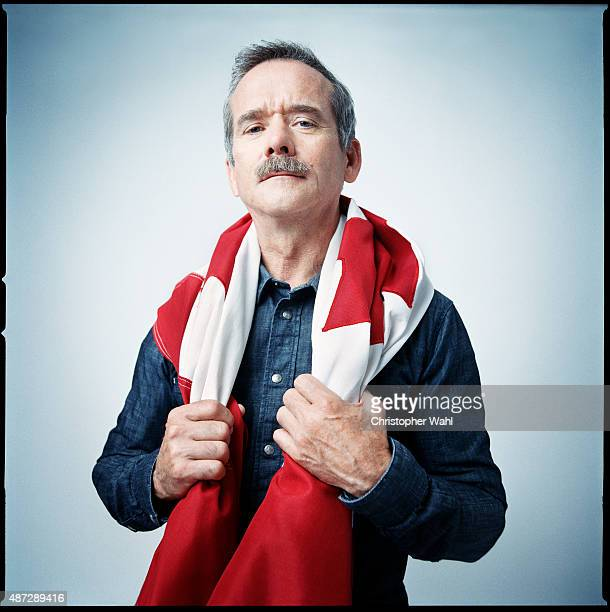 Retired Canadian astronaut who was the first Canadian to walk in space Chris Hadfield is photographed for Self Assignment on August 1 2015 in Toronto...