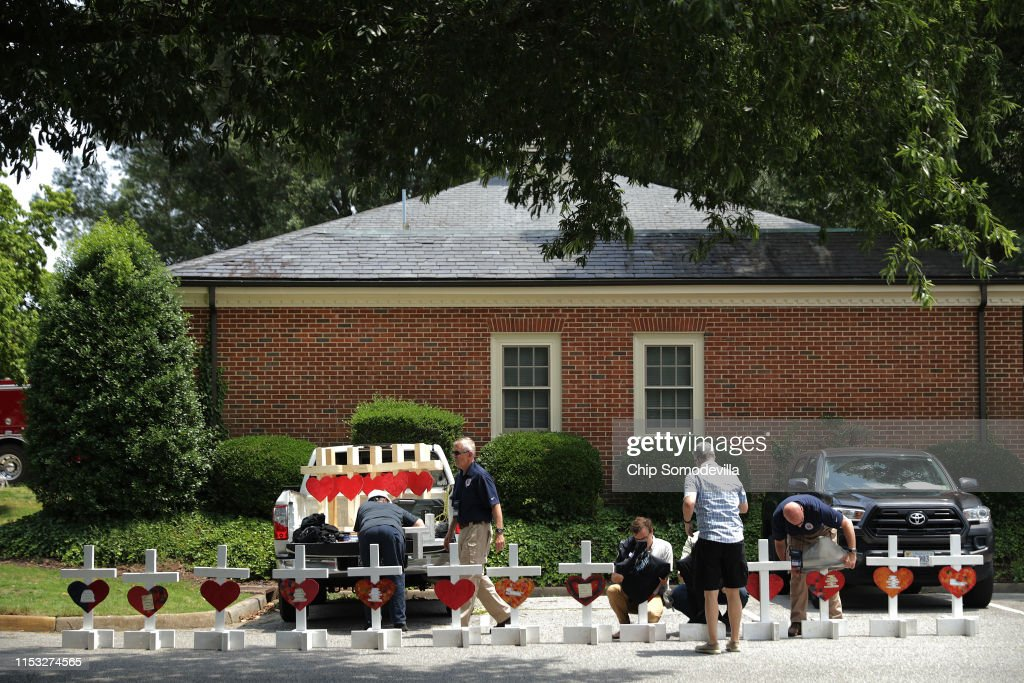 12 Dead In Mass Shooting At Virginia Beach Municipal Center : News Photo