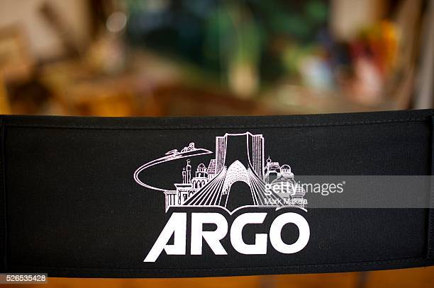 Retired CIA operative Tony Mendez was given this director's chair for the film 'Argo' film starring Ben Affleck in his role The film won the Best...