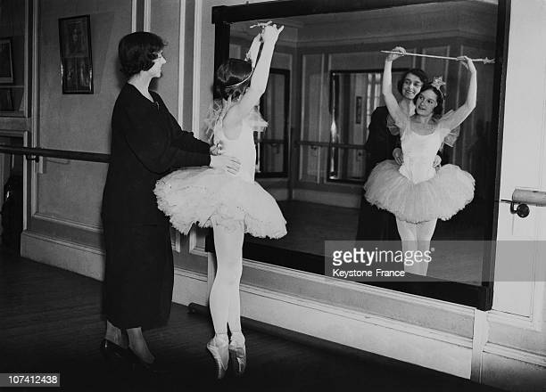 British Ballerina Phyllis Sedells Training