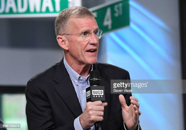 Retired fourstar general Stanley McChrystalÊvisits Build Series to discuss his and Chris Fussell's new book 'One Mission How Leaders Build a Team of...