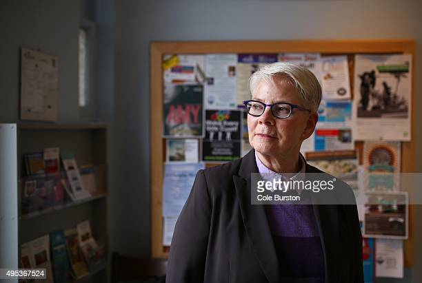 Retired health promotion consultant Marianne Kobus-Matthews, who heads the project's community support services committee poses for a photo at the...
