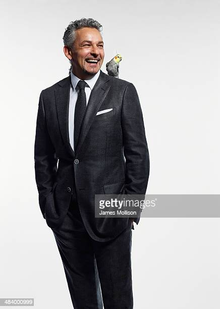 Retired Italian football forward Roberto Baggio is photographed for GQ on October 26 2010 in Milan Italy