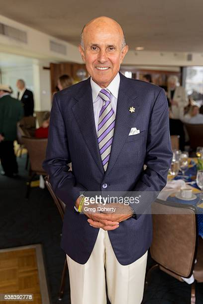 Retired Los Angeles County Sheriff Lee Baca attends The Thalians Presidents Club Anchors Away Brunch at the California Yacht Club on June 5, 2016 in...