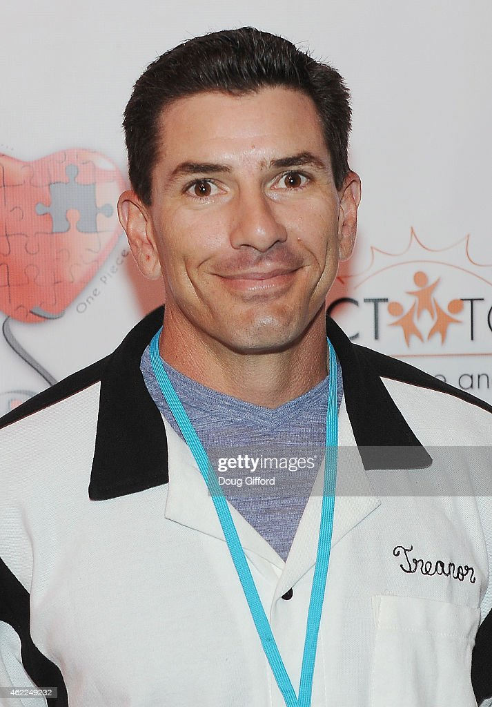 Retired MLB catcher, Matt Treanor poses before the 4th Annual Stars and Strikes Celebrity Bowling Tournment at Bowlmor Lanes at Anaheim Garden Walk on January 25, 2015 in Anaheim, California.
