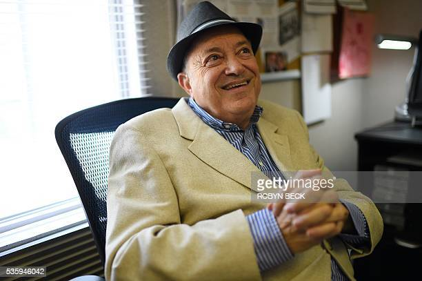 Retired motion picture industry attorney Bob Mirisch speaks to AFP during an interview at the Motion Picture Television Fund Country House a...