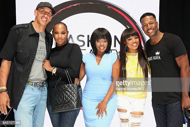 Retired NBA player Doug Christie, TV personality Jackie Christie, actress Stacii Jae Johnson, recording artist/TV personality Shanice, and Flex...