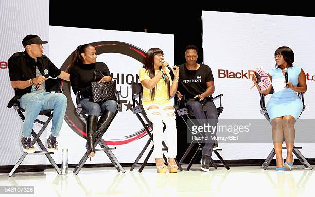Retired NBA player Doug Christie, TV personality Jackie Christie, recording artist/TV personality Shanice, actor Flex Alexander, and actress Stacii...