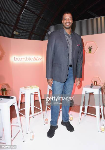 Retired NBA player Jason Collins attends Bumble Presents: Empowering Connections at Fair Market on March 9, 2018 in Austin, Texas.