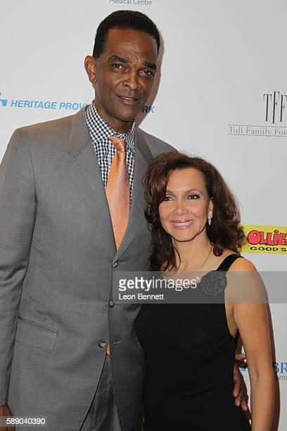 Retired NBA player Ralph Sampson and Patrice Ablack attends 16th Annual Harold And Carole Pump Foundation Gala Arrivals at The Beverly Hilton Hotel...