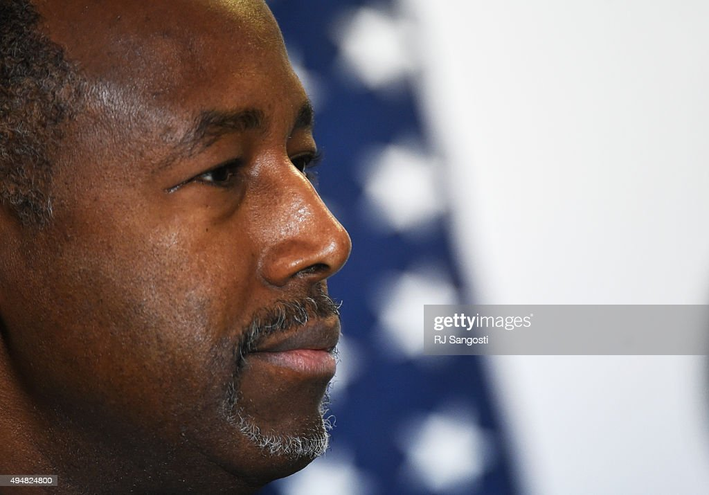 Rally for Carson : News Photo