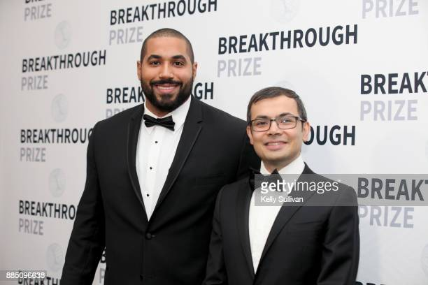 Retired NFL player / mathematician John Urschel and game designer Demis Hassabis attend the 2018 Breakthrough Prize at NASA Ames Research Center on...