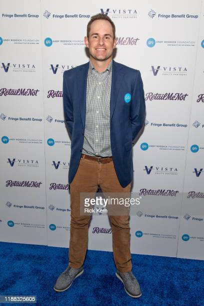 Retired professional tennis player Andy Roddick attends the 14th Annual Andy Roddick Foundation Gala at ACL Live on November 17, 2019 in Austin,...