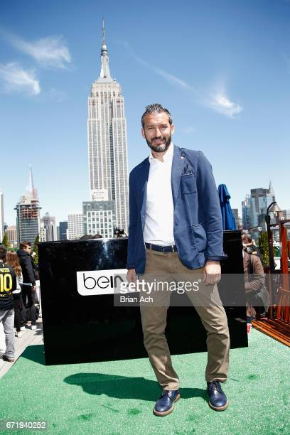 Retired soccer player Gianluca Zambrotta attends a roofop viewing party of El Clasico Real Madrid CF vs FC Barcelona hosted by LaLiga at 230 Fifth...