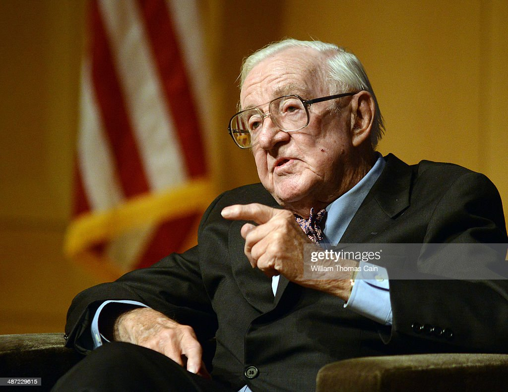 Former Supreme Court Justice John Paul Stevens Discusses His New Book : News Photo